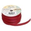 Flat Leather 10x2mm (5m Spool) Metallic Red